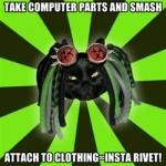 cybergothic memes